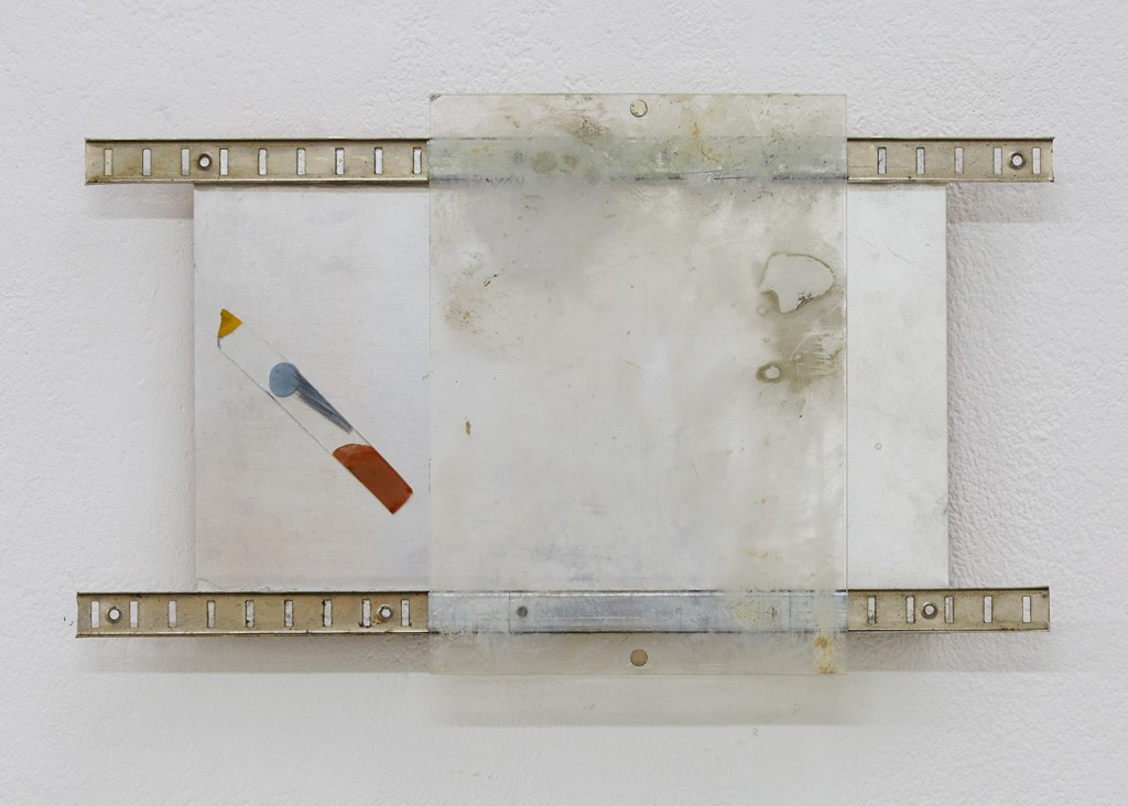 L.Fossi, Sliding, Mixed Media, 21cm x 36cm x 3 cm, 2015